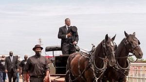 John Lewis Memorial Procession Crosses Selma's Edmund Pettus Bridge
