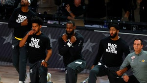 LeBron James Honors Chadwick Boseman with Wakanda Sign at Lakers Game