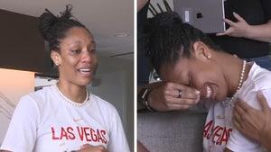 WNBA's A'ja Wilson Chokes Back Tears In MVP Acceptance Speech