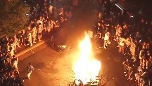 UCLA Fans Start Massive Blaze Near Campus To Celebrate Final Four Berth