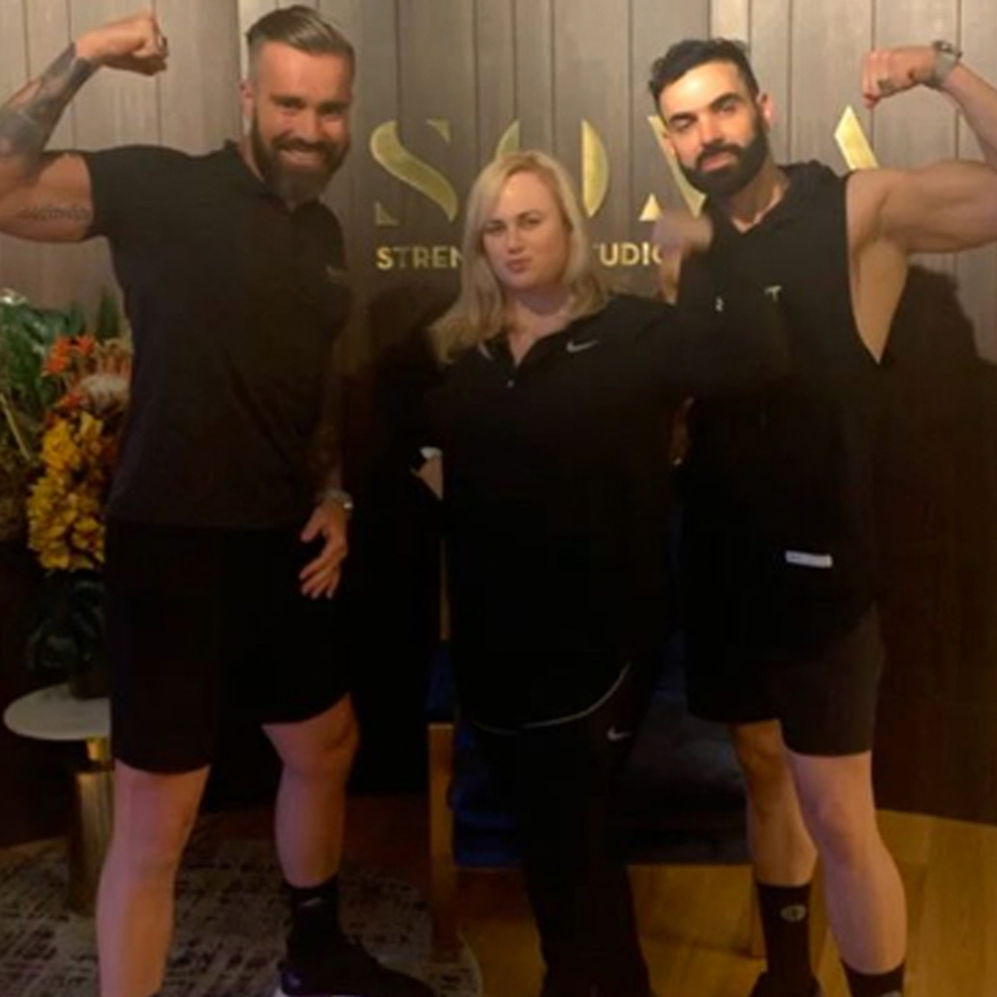 Rebel Wilson Reveals Slim New Look with Her Trainers
