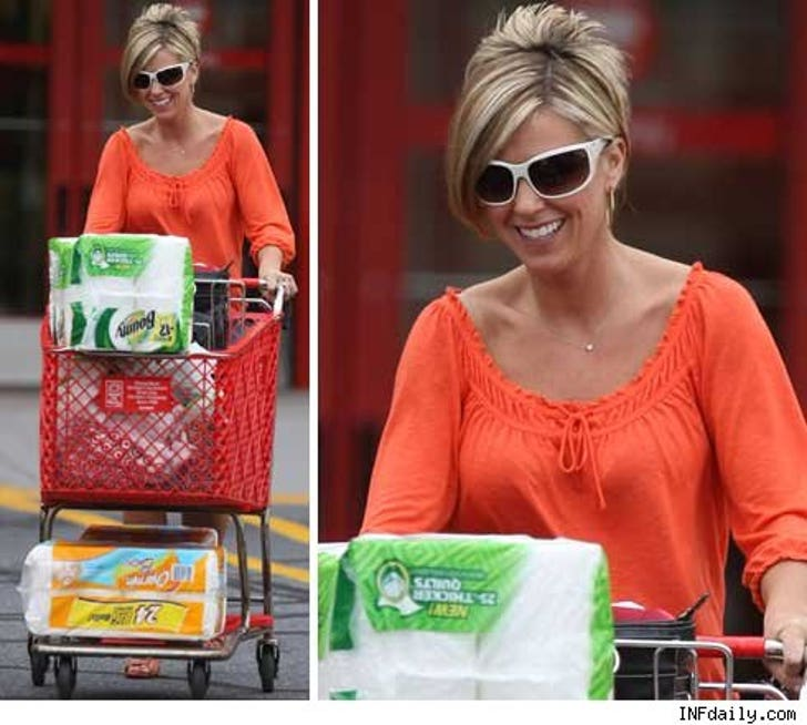 Kate Plus 8' Takes Her Weave Shopping
