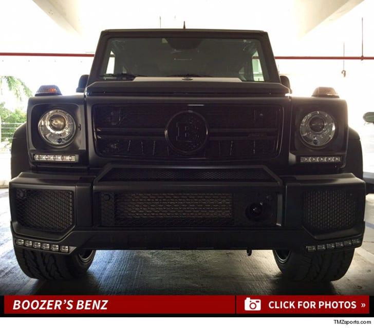 Carlos Boozer's Benz