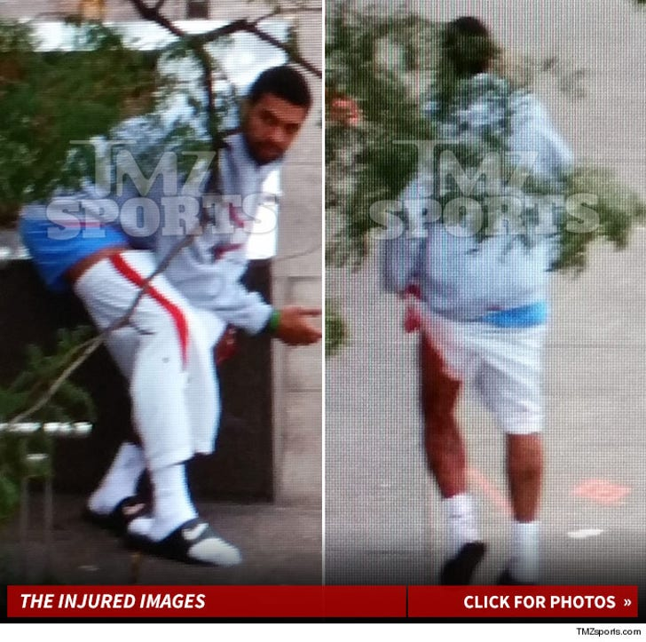 Glen Rice Jr. -- Bloody and Wounded Gunshot Pics