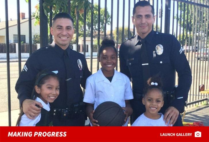 Operation Progress -- LAPD Mentoring Kids
