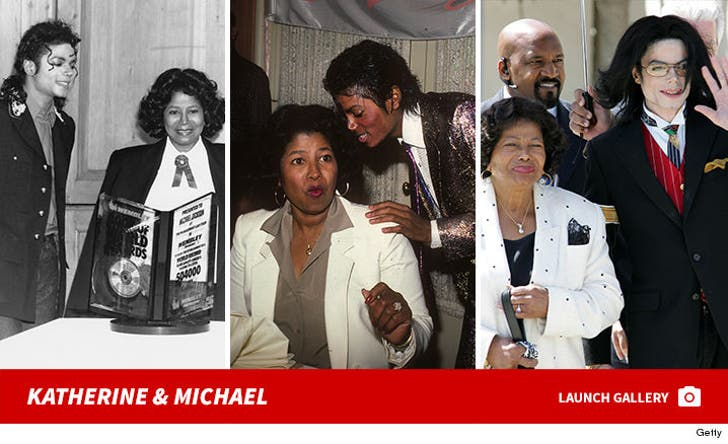 Katherine and Michael Jackson Photos