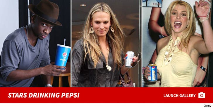 Stars Drinking Pepsi