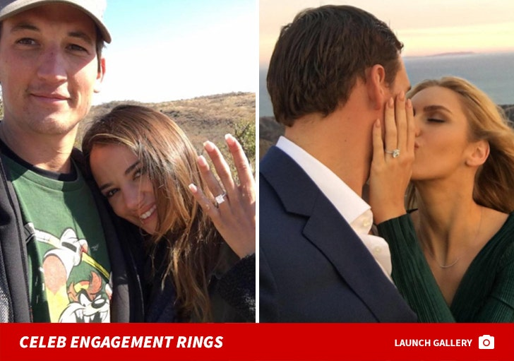 Rockin' Celebrity Engagements