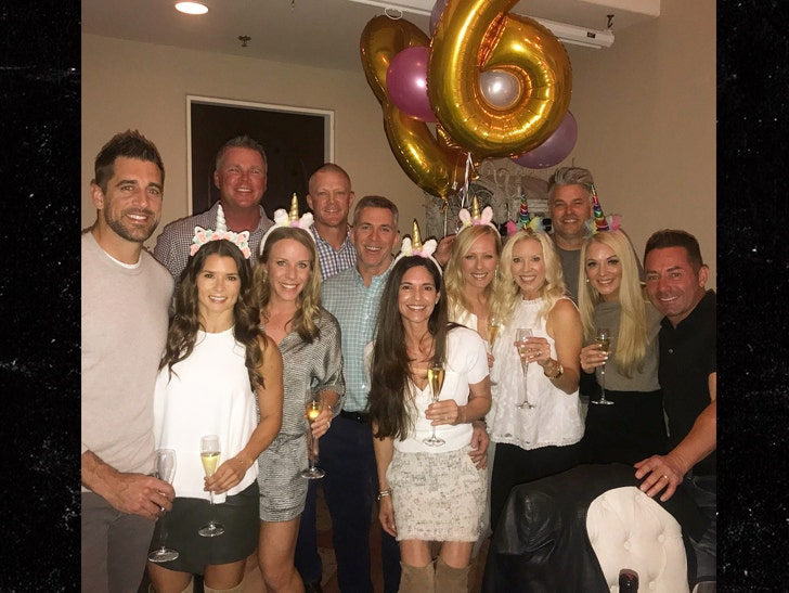 Danica Patrick Rings in 36th Birthday with Boyfriend Aaron