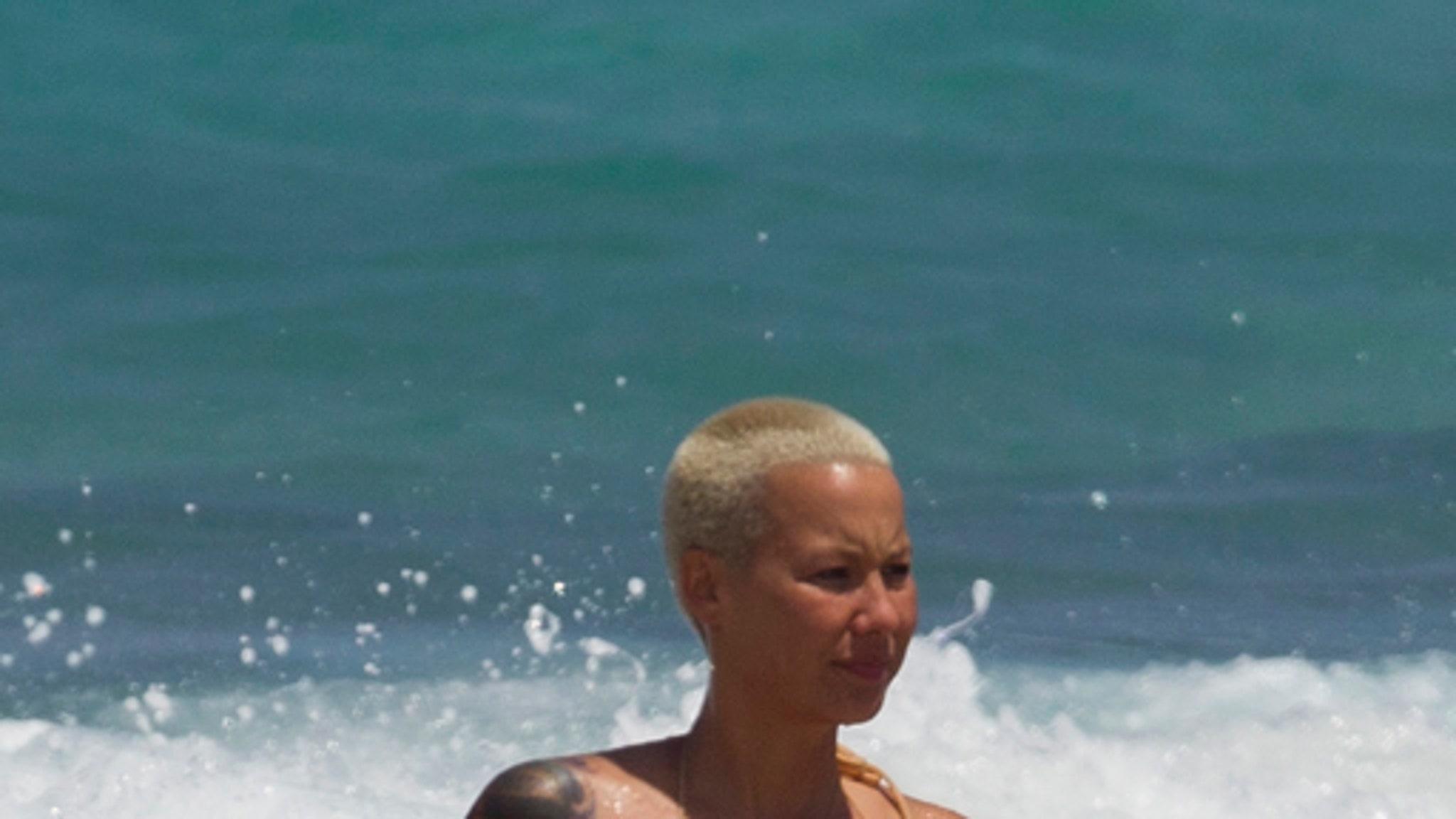 Amber Rose -- Topless Bikini Photos-5193
