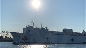 Hospital Ship Mercy Arrives in L.A. to Ease COVID-19 Pressure