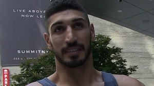 Enes Kanter's Dad Released from Turkish Jail, NBA Star Says