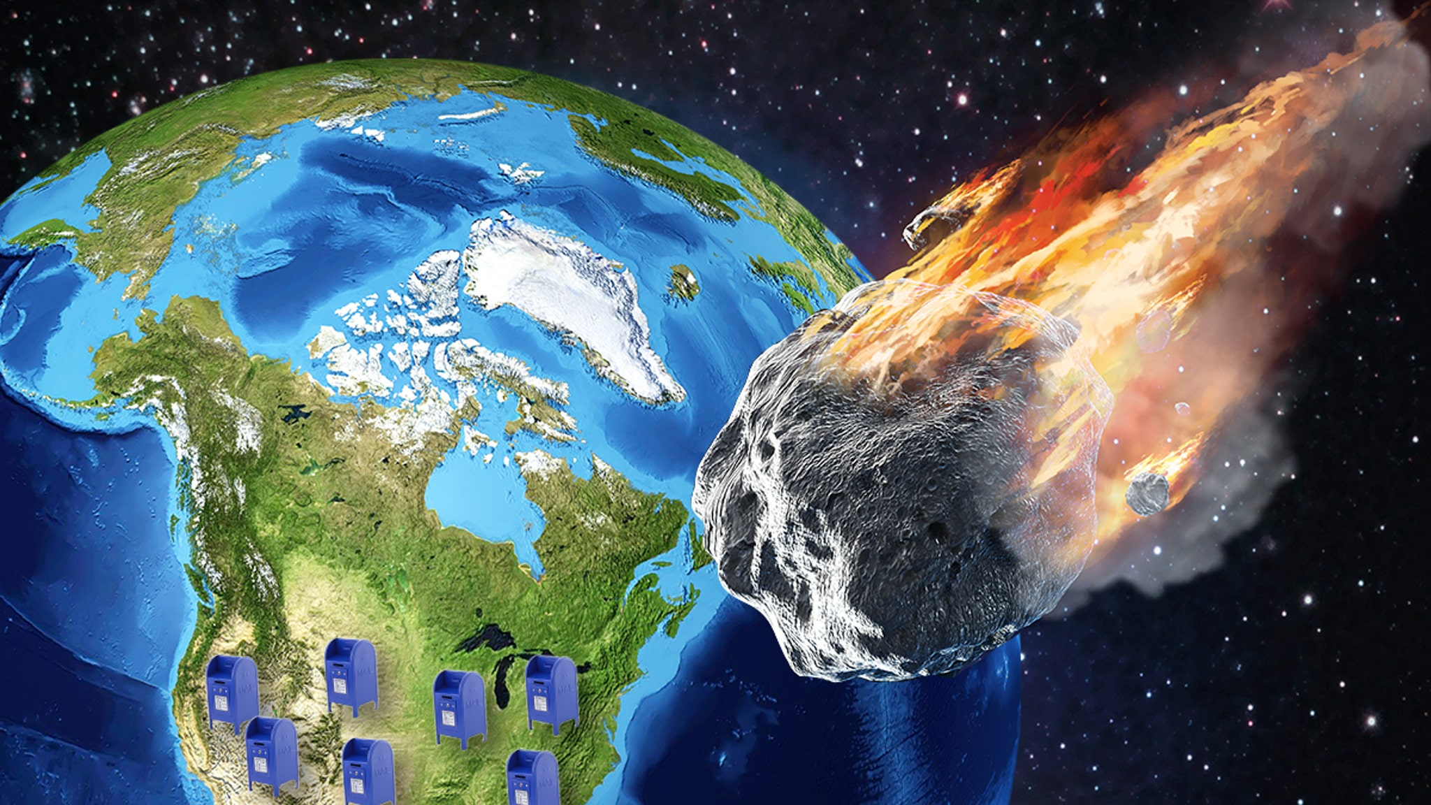 NASA Warning Asteroid Could Hit the U.S. ... 1 Day Before Election