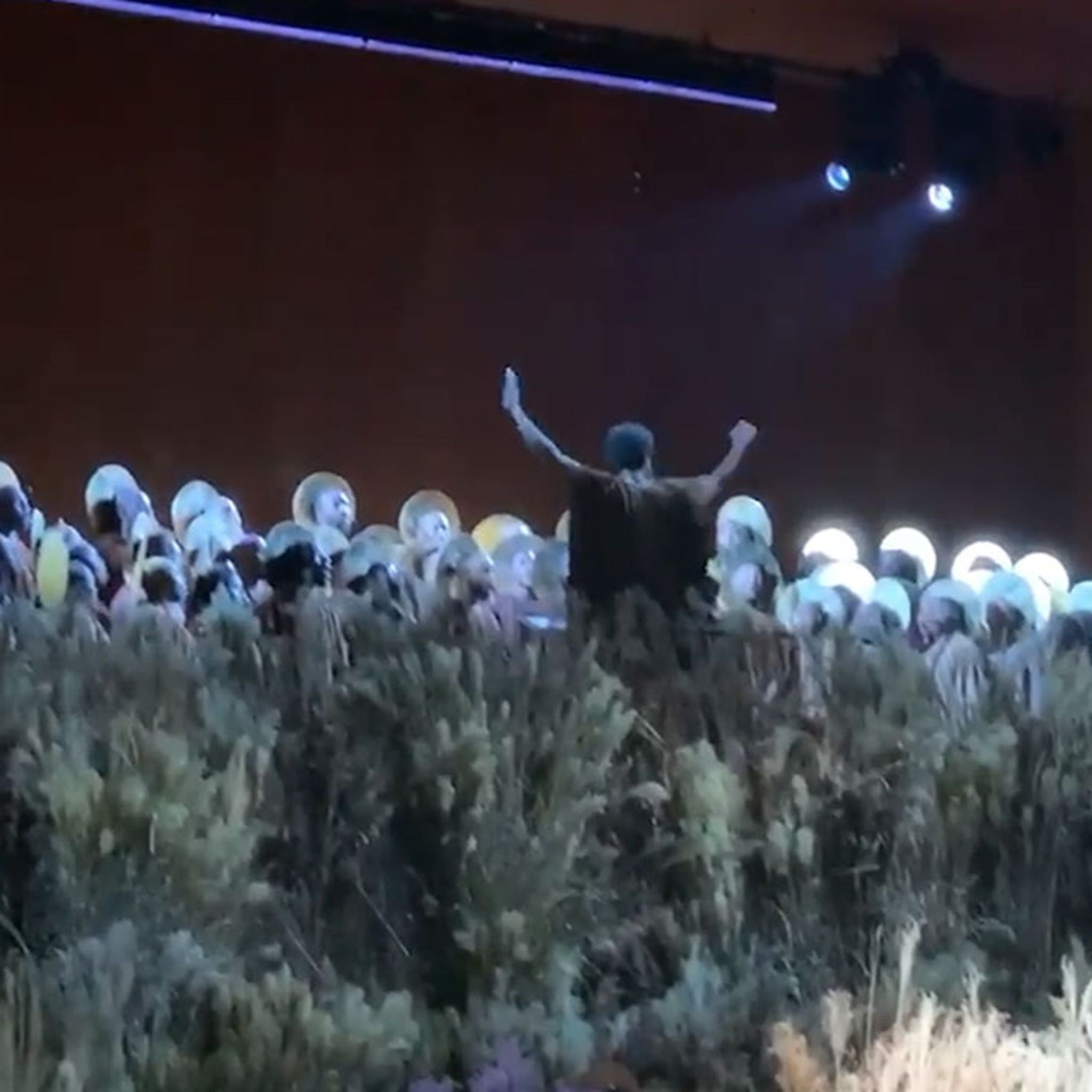 Kanye West Opera Performs Christmas Classic In Nyc