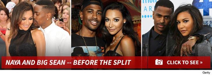 Naya Rivera and Big Sean -- Before the Split