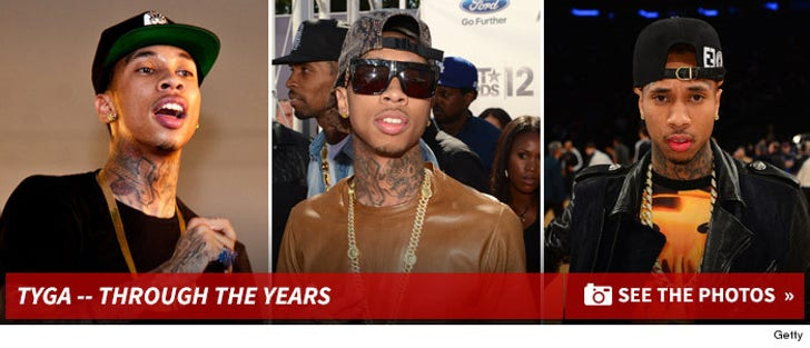 Tyga -- Through the Years