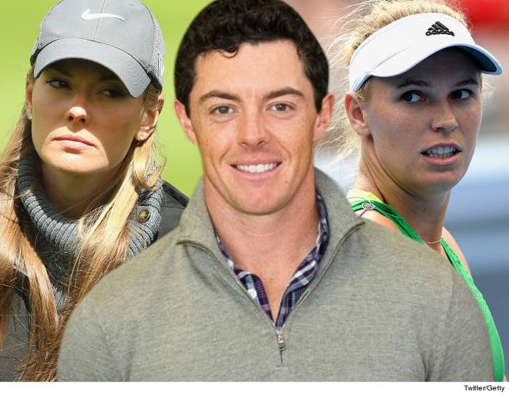 Rory Mcilroy Shades Ex Gf Caroline Wozniacki Being With A Celebrity Sucked