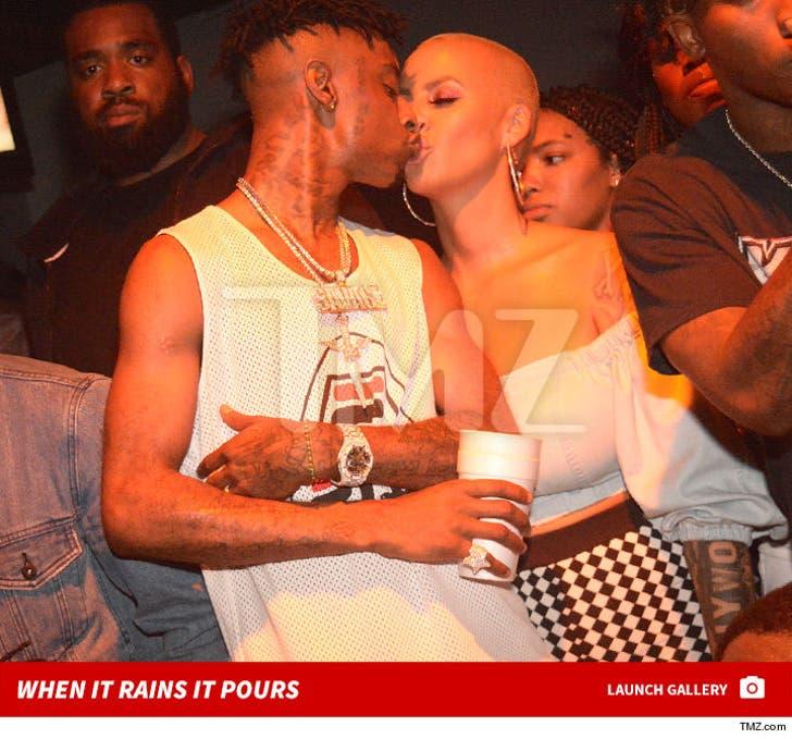 Amber Rose & 21 Savage Drop $22k for Females Only in Atlanta Club
