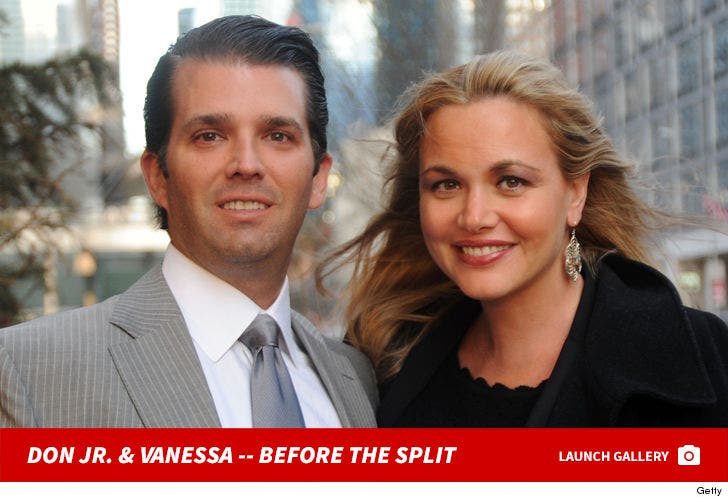 Donald Trump Jr. And Vanessa Trump -- Before The Split