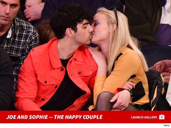 Joe Jonas and Sophie Turner -- The Happy Couple