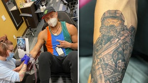 NFL's George Kittle Gets Massive Master Chief Tat, Halo Fan For Life!