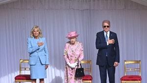 Joe & Jill Biden Meet Queen Elizabeth for Tea at Windsor Castle