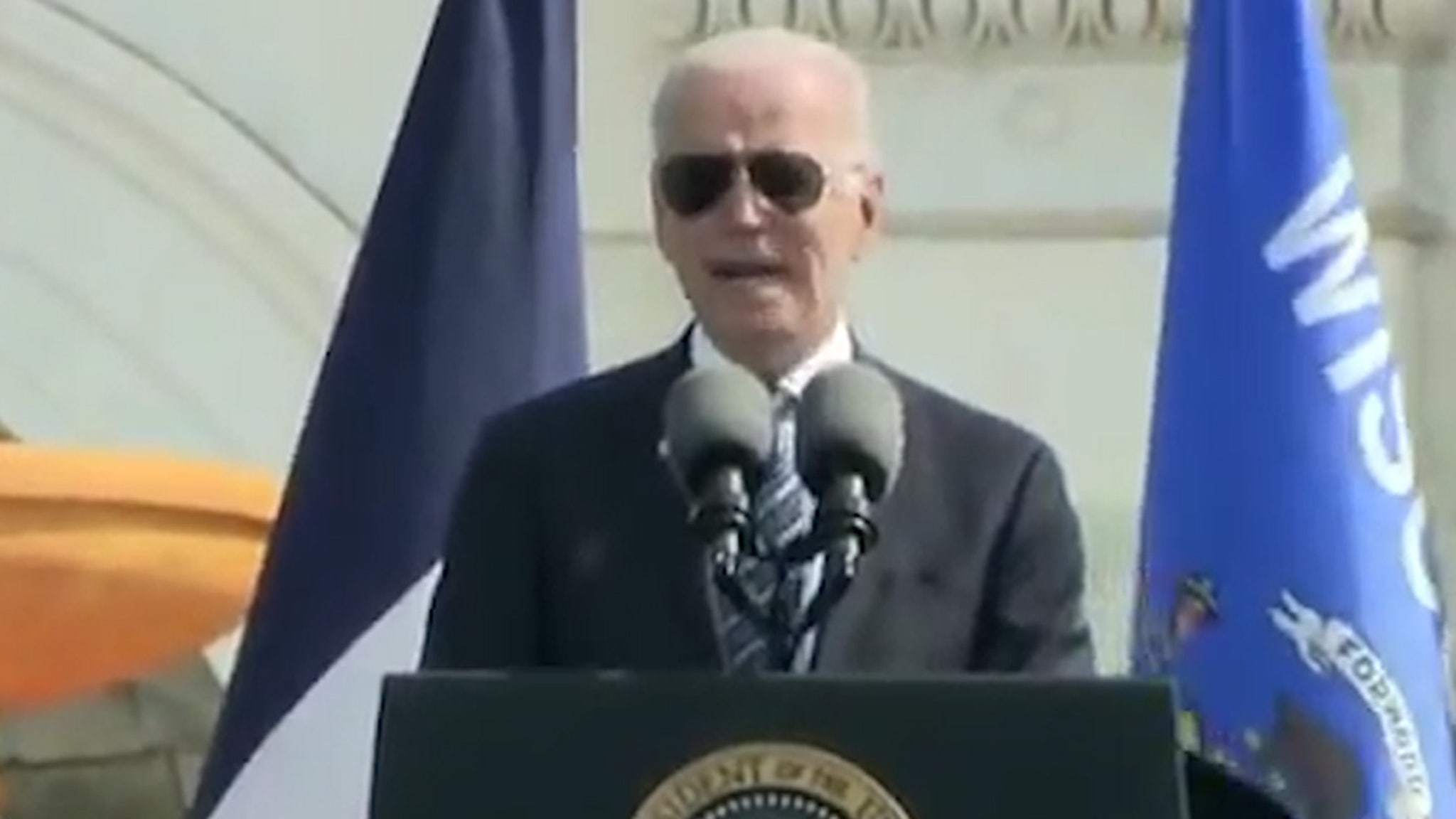 President Biden Says It's Tough Being a Cop, Rejects Defunding Police thumbnail