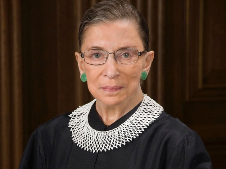 Supreme Court Justice Ruth Bader Ginsburg Dead at 87. Photo courtesy of tmz.com