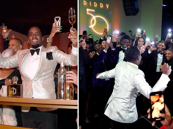Inside P Diddy's 50th Birthday