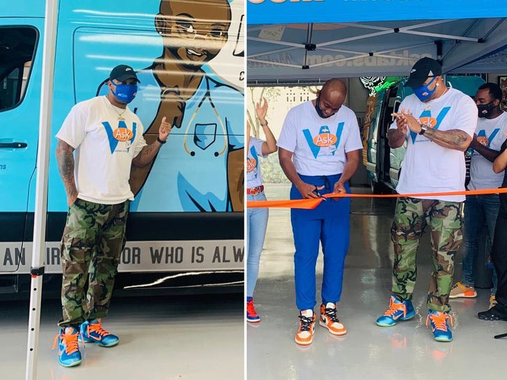 Flo-Rida's New Mobile Wellness Center