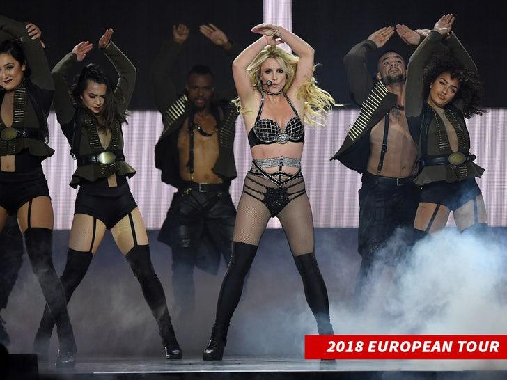 tour du lịch châu Âu Britney