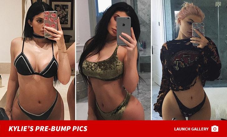 Kylie Jenner's Pre-Bump Pics