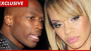 Chad Ochocinco & Evelyn Lozada -- Wedding Plans on Hold, Cheating Suspected