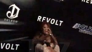 'Love & Hip Hop' Star Rah Ali Attacks 'Black Ink' Star Sky at Diddy's NYE Party