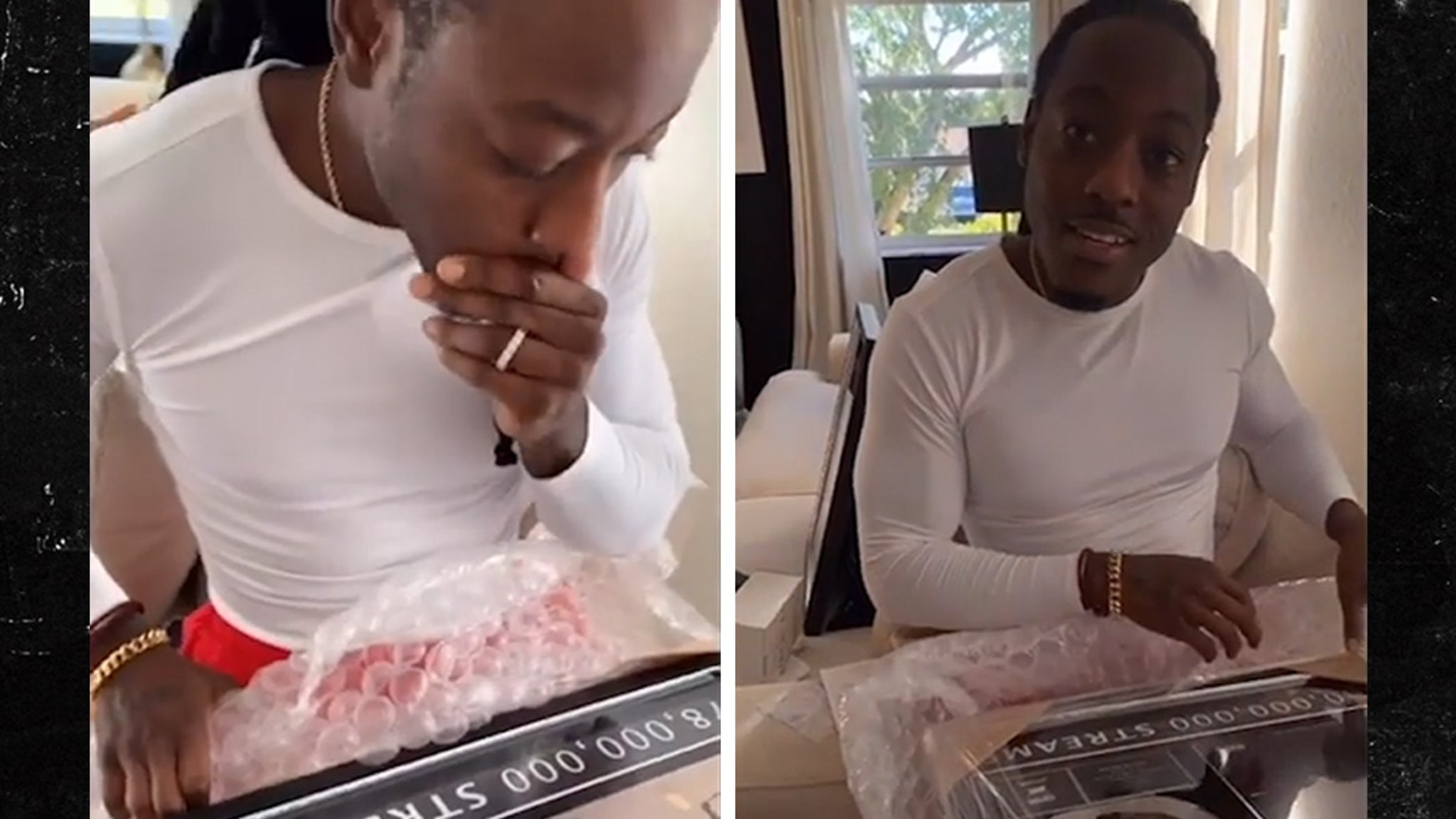 Ace Hood's Wife Gifted Him Custom Plaques to Celebrate Independent Success - TMZ