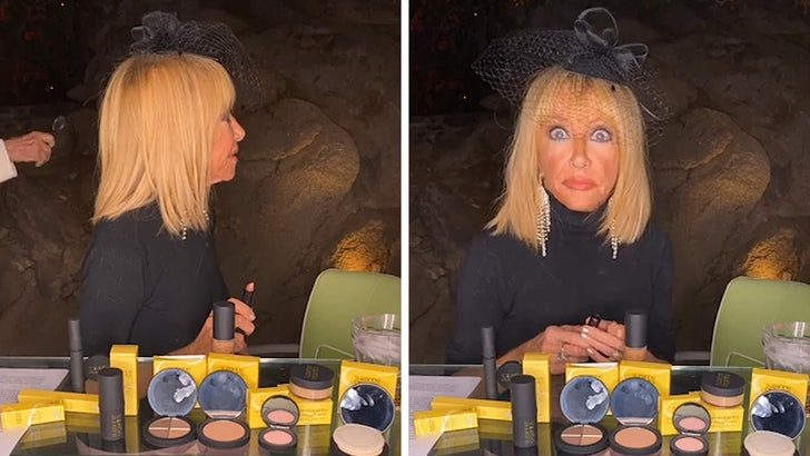 Suzanne Somers Makeup Live Stream