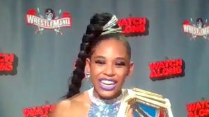 WWE's Bianca Belair on Historic Championship Victory, 'Most Amazing Feeling Ever'