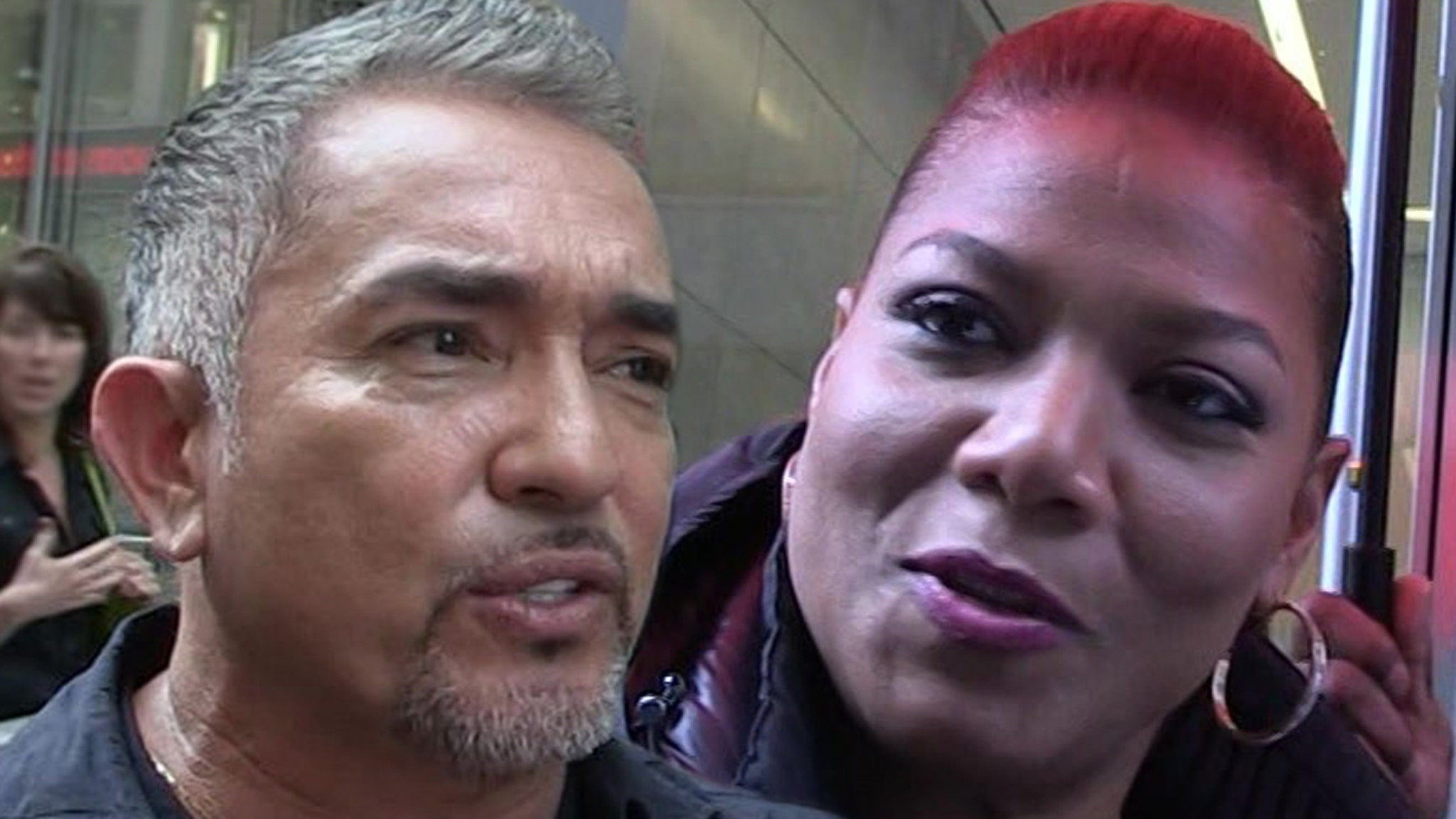 Cesar Millan's Pit Bull Allegedly Killed Queen Latifah's Dog, Then Covered It Up