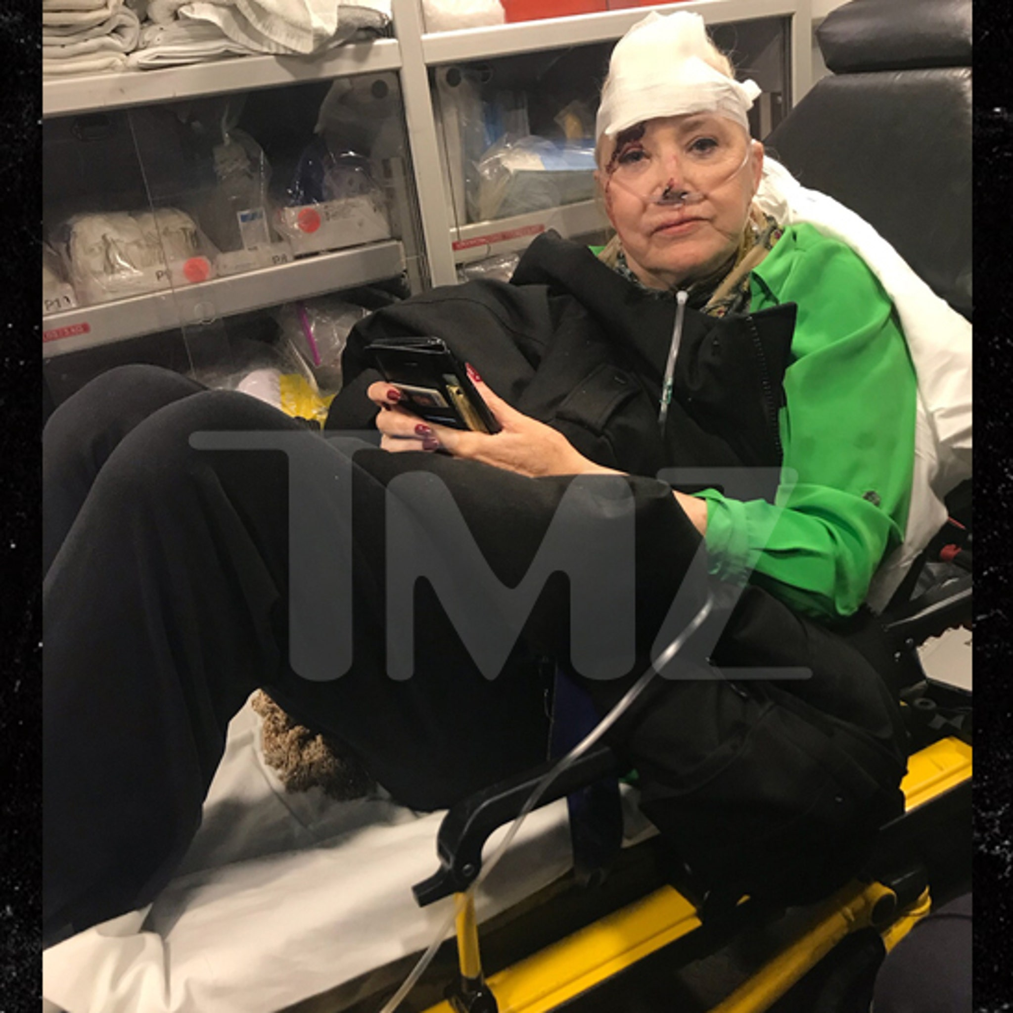 Sally Kirkland In Surgery After Bad Fall (UPDATE)