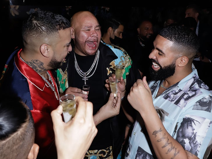 Drake, French Montana and Fat Joe Party in Miami