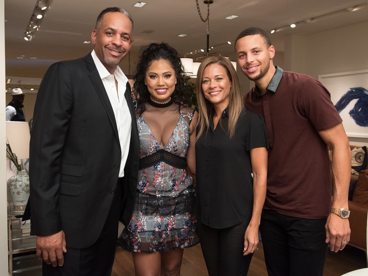 Sonya and Dell  -- Curry Family Photos