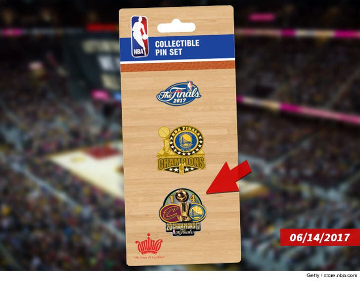 NBA Covers Up Flubbed Finals Merch, Warriors In 6?!