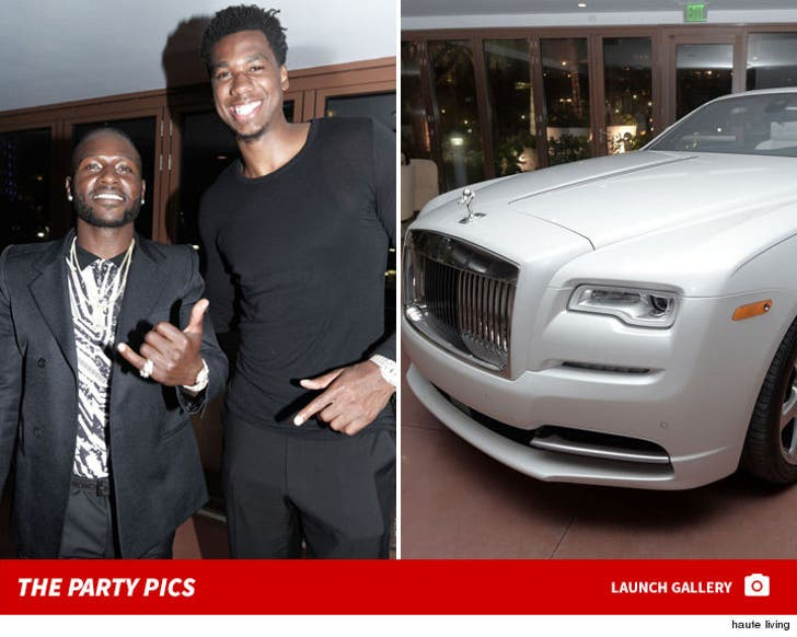 Antonio Brown -- The Birthday Party Pictures