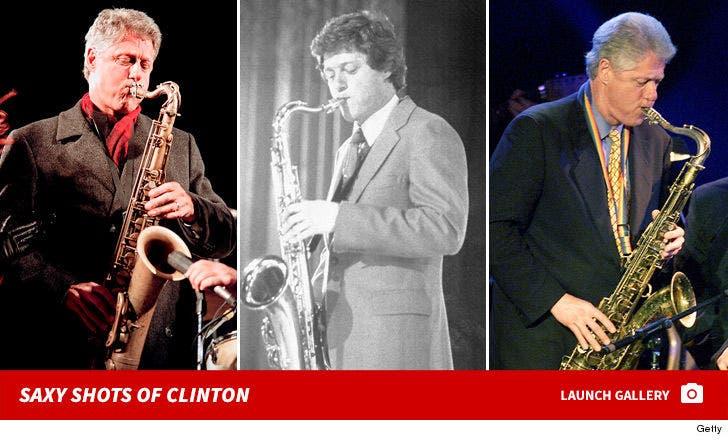 Saxy Bill Clinton Photos