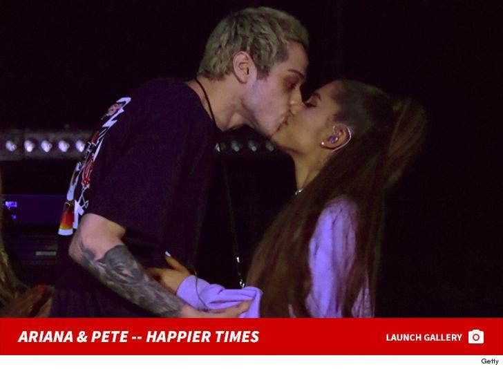 Ariana Grande and Pete Davidson Together