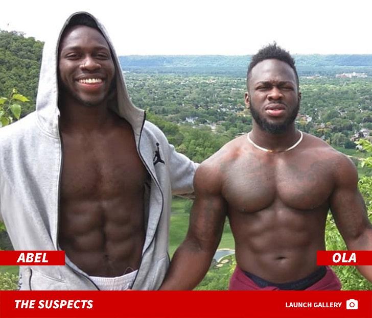 Abel and Ola Osundairo Flexin'