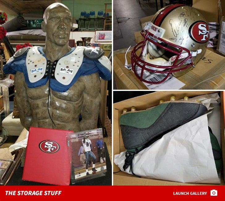 Terrell Owens -- The Storage Unit Stuff