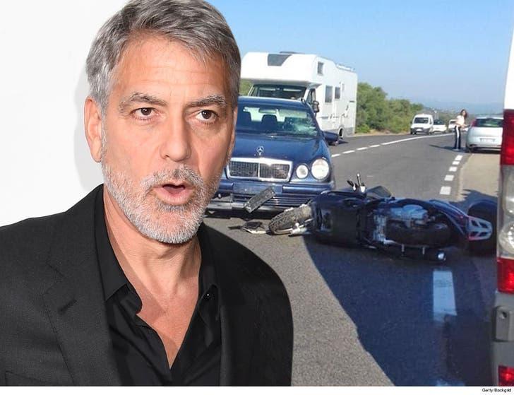George Clooney Expected He'd Die in Italian Motorcycle