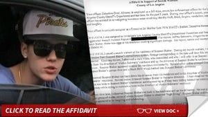 Justin Bieber -- High-Fiving After Egg Attack ... Cops Say