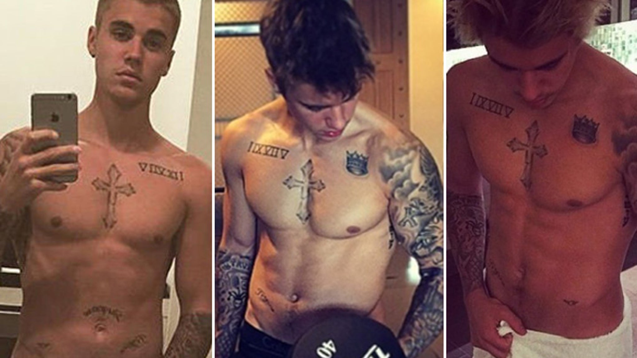 Justin Bieber Goes Shirtless in New Zealand Bar